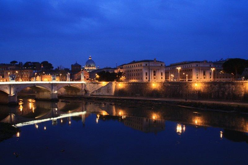 Roma. Vista desde el Ponte S.Angelo