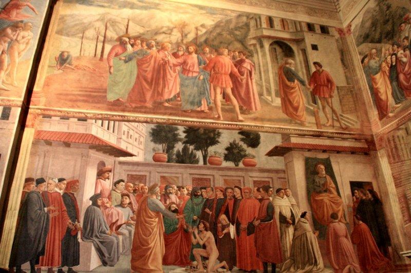 Firenze. Santa Maria del Carmine.Capella del Brancacci