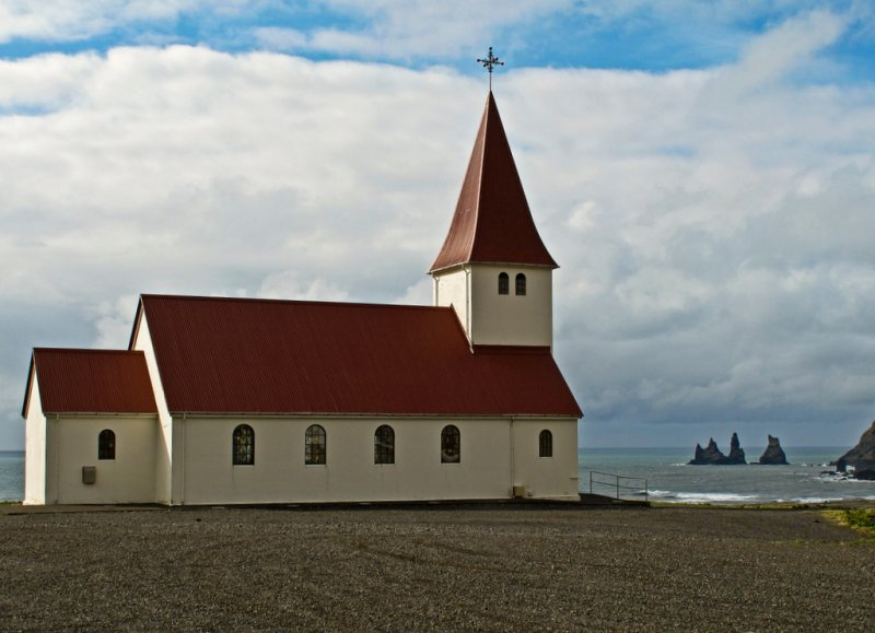 Vik - kirkja (church)