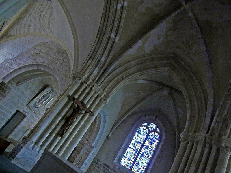 inside the church of Varengeville