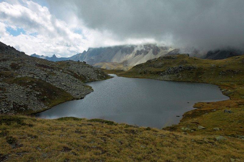 vallée de la Clarée, lac long