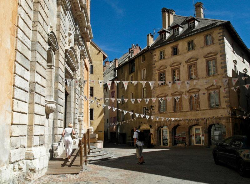 Briançon, la ville la plus haute dEurope.
