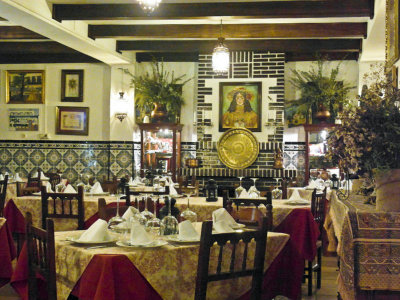 typical restaurant in Andalucia