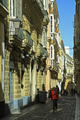 balconies in Cadiz