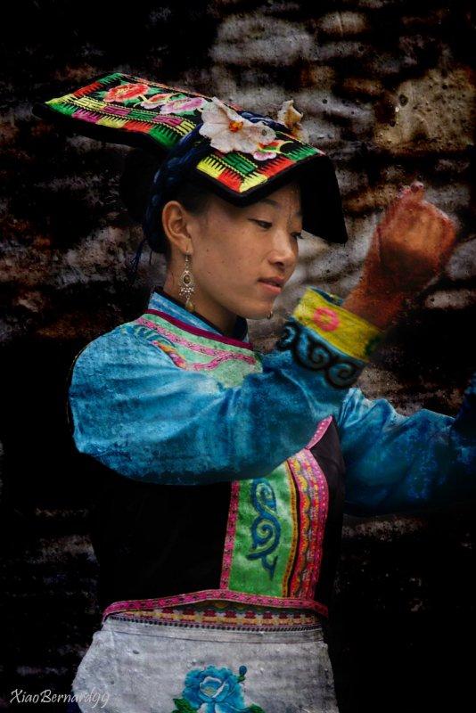 Dancer of  Ethnic Cultural Park
