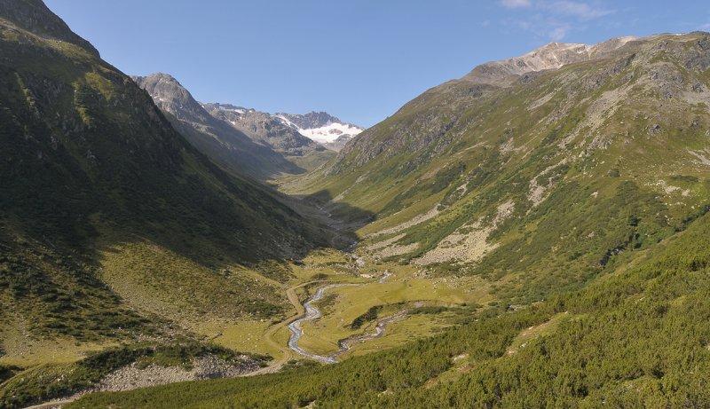 Alps near the Fluelapass