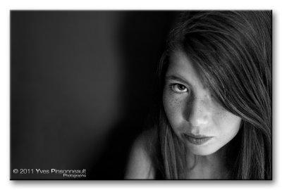 Quick Portrait ...  (3200 ISO)