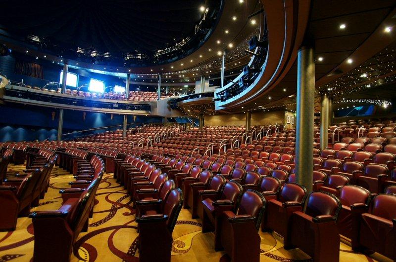Eurodams main theater