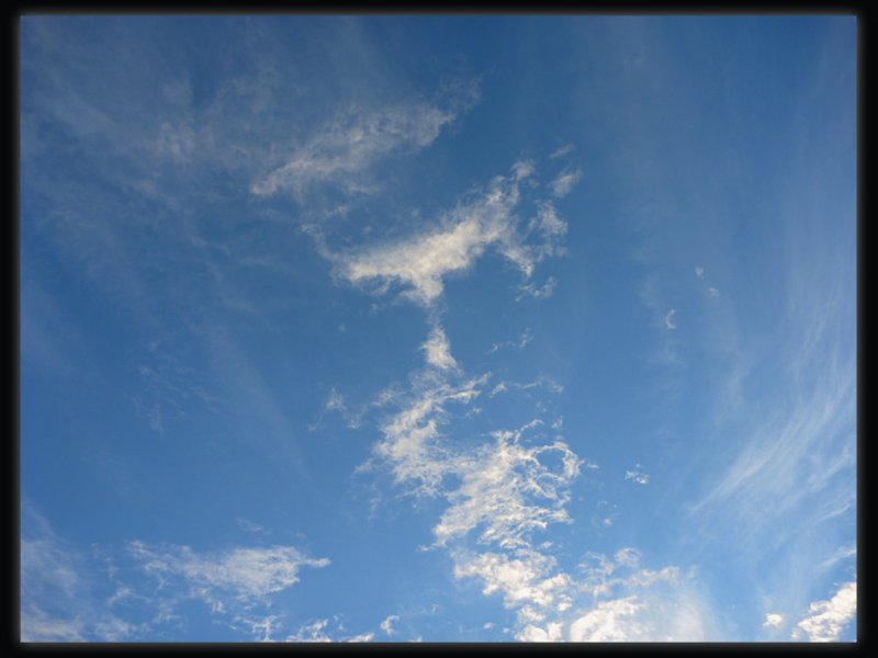 Face in the sky.