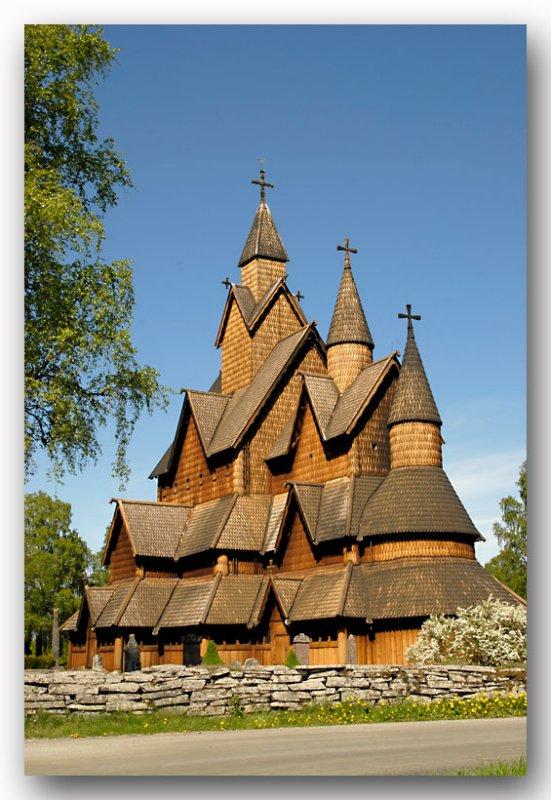 Staafkerk Heddal Norway