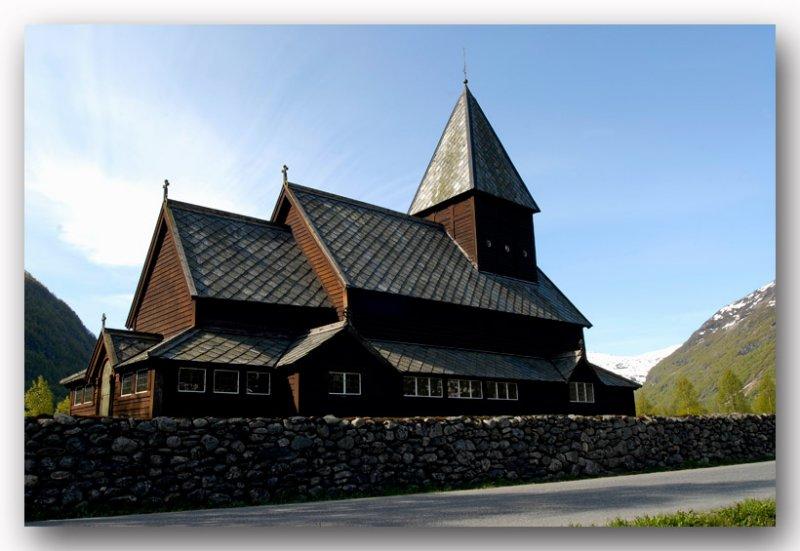 Røldal stavkyrkje Noorwegen
