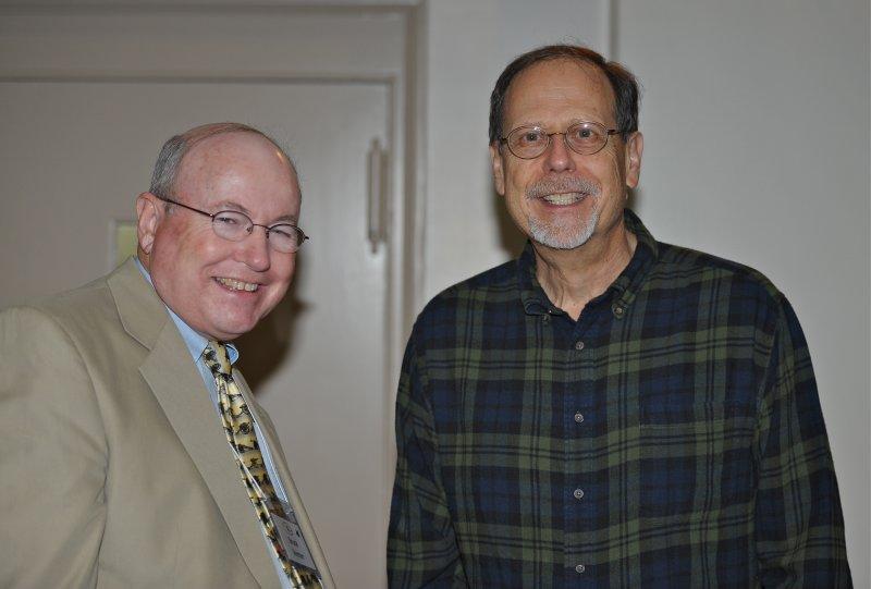 Bruce Venter, Conference Speaker and Marc Leepson