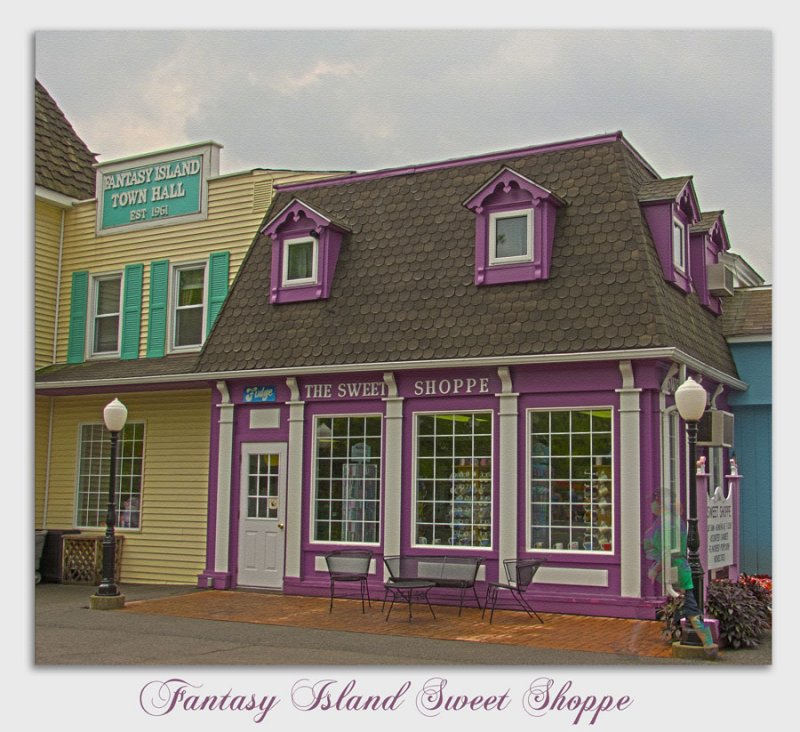 Fantasy Island Sweet Shoppe