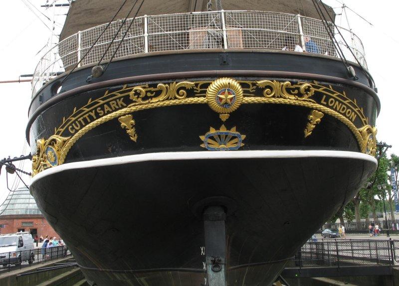 The stern.