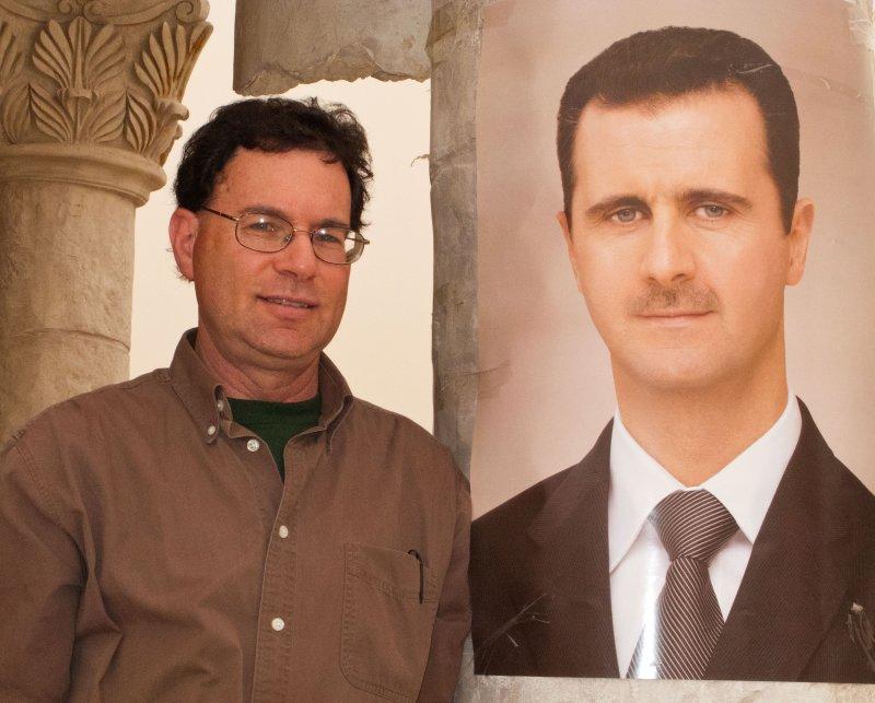 Me and Bashar Al-Assad