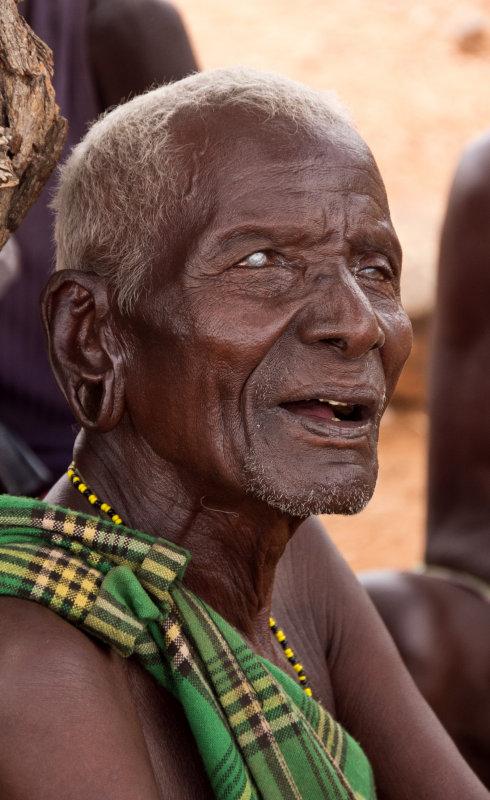 blind village elder