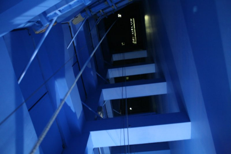 Blue Reverberation Chambers