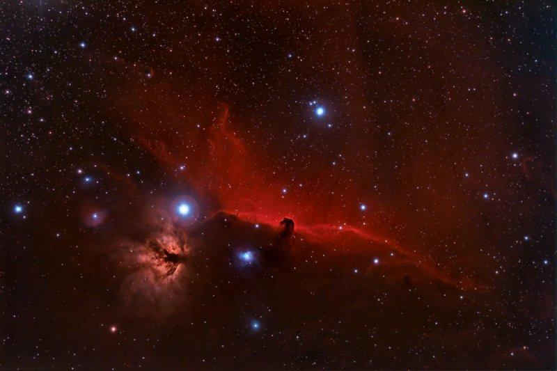 IC 434 Horsehead Nebula Area