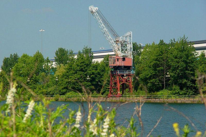Old Crane at Atlantic Wharf
