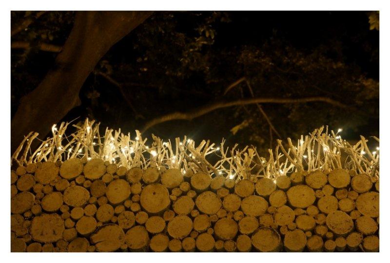 Lighting wall