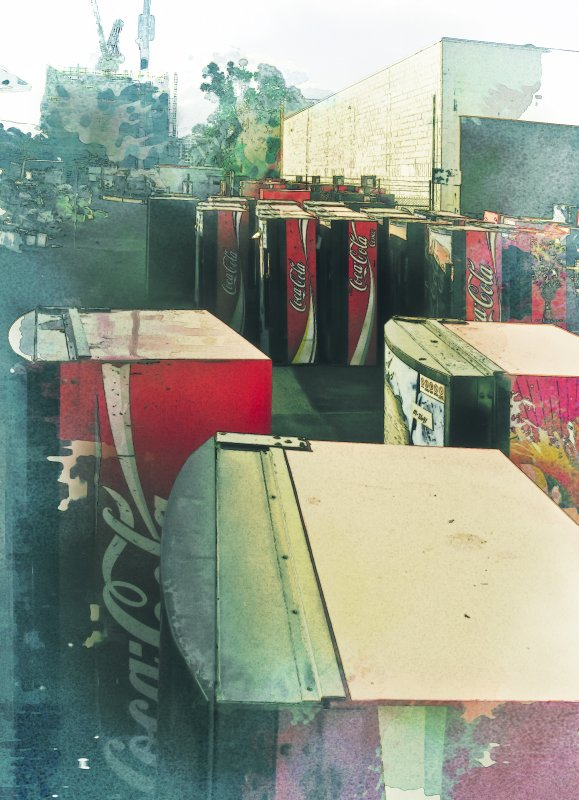 After the floods ..... Coke machines revisited