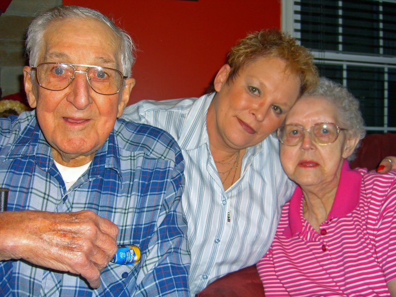 Granddad, Sam, and Grandmom