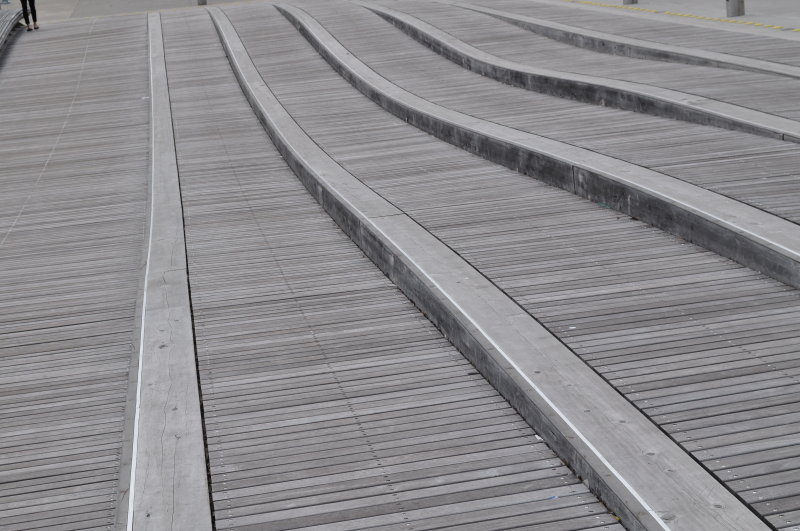 Walkway at Harbourfront