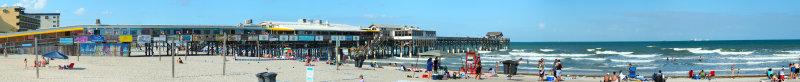 Cocoa Beach Pier Panorama