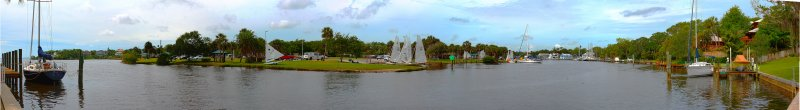 Eau Gallie Yacht Club and Ballard Park