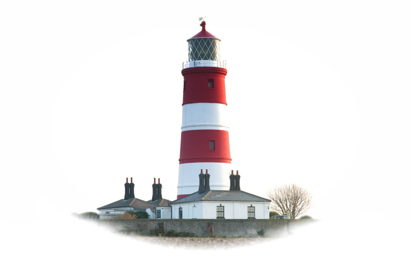 Happisburgh Lighthouse (vignette)