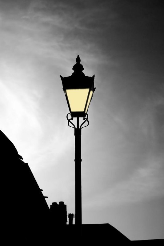 Lamp Light Mono Lit