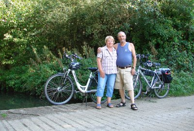 Out on a ride on Electric Bikes in North Norfolk