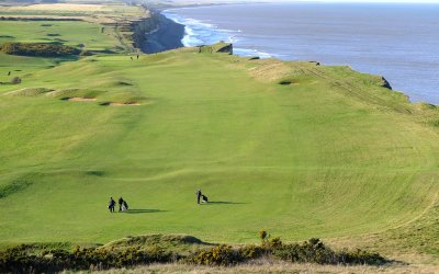 Sheringham Cliffs and Golf course