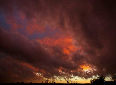 Mid Winter Sunset