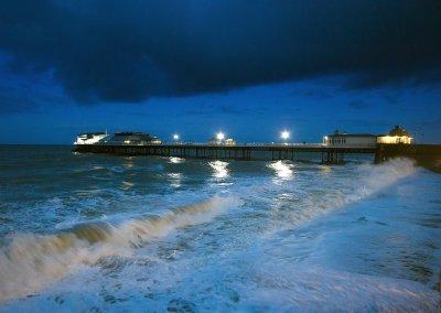 High Tide as Night Falls