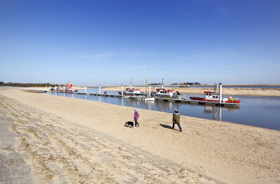 New man made harbour at Wells-next-the-Sea