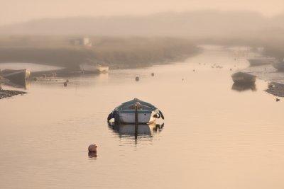 Winter Sunrise as the Tide Rises