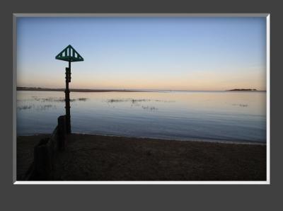 Wells Sunset with Groyne