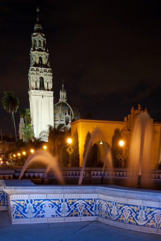 Night Fountain