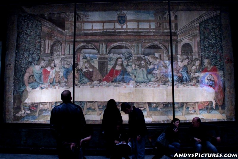 Tapestry of the Last Supper - Vatican Museum