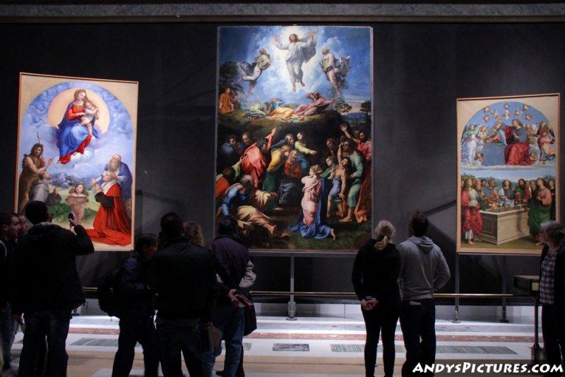 Raphaels Madonna of Foligno, Oddi Altarpiece and Transfiguration