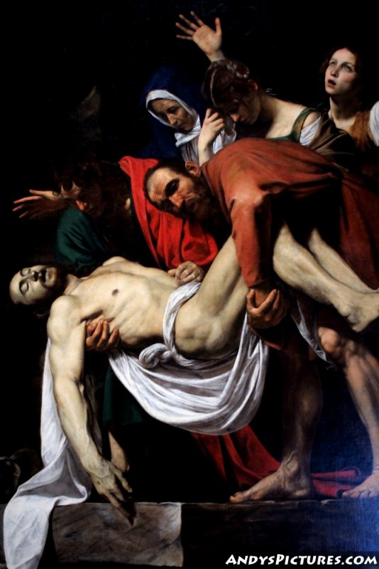 The Entombment of Christ (1602–1603) by Michelangelo Merisi da Caravaggio