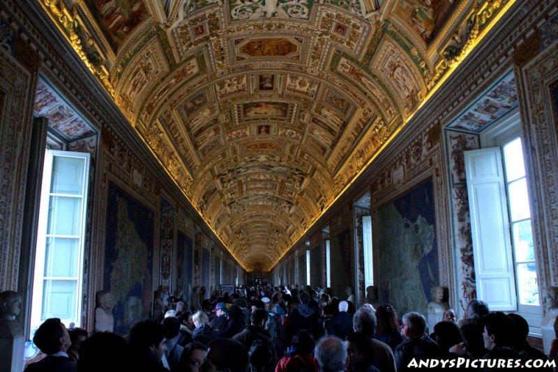 Gallery of Maps - Vatican Museum