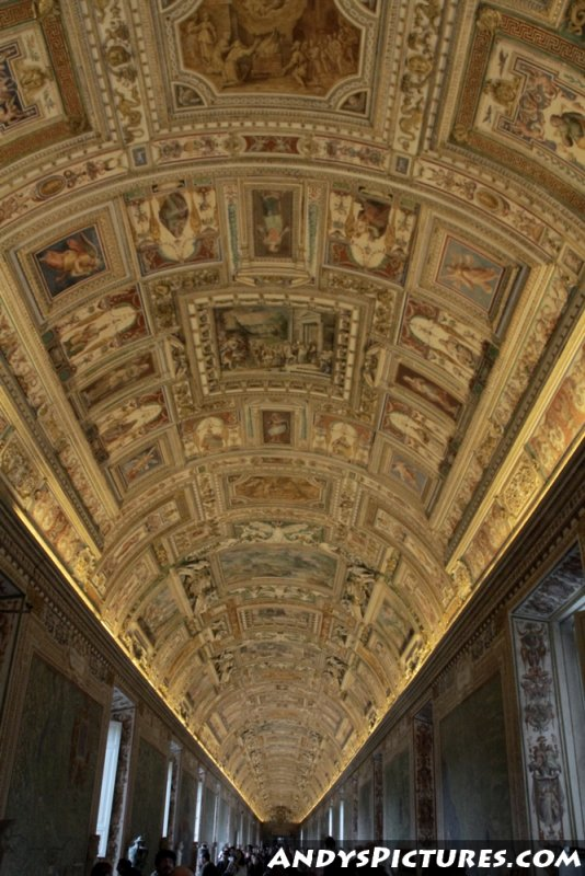 Gallery of Maps - Vatican Museum