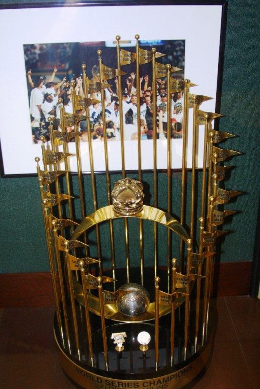 1997 World Series Trophy