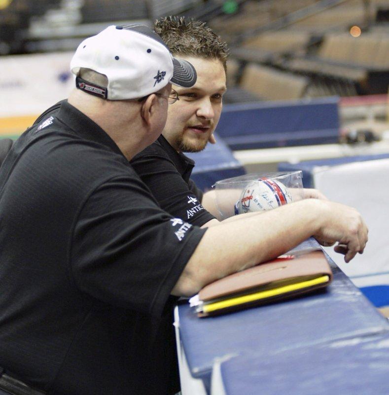 Talking to former Rampage assistant coach Steve Fickert