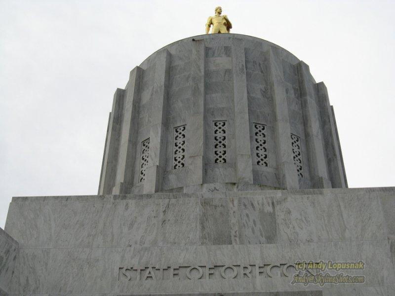 Oregons State Capital in Salem