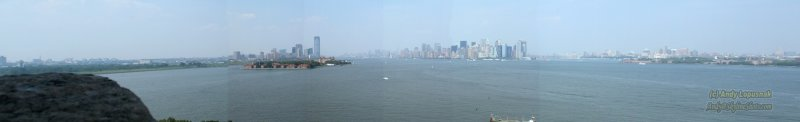Panorama of NYC, Jersey City and Brooklyn