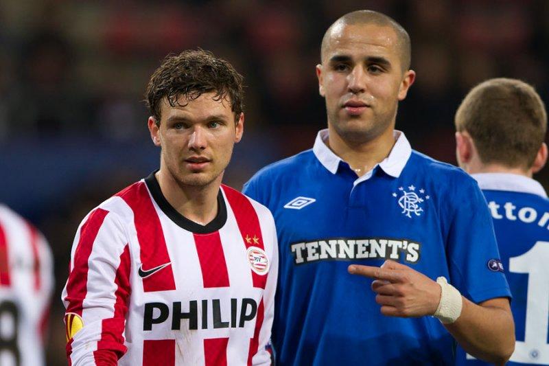 Marcus Berg and Madjid Bougherra