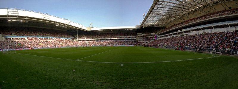 Philips Stadium during the Game